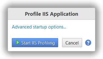 YourKit  NET Profiler Help - Profile IIS application