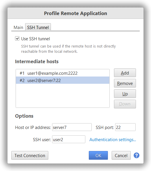 YourKit  NET Profiler Help - Profile remote applications