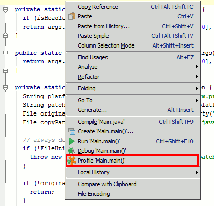 YourKit Java Profiler Help - IntelliJ IDEA