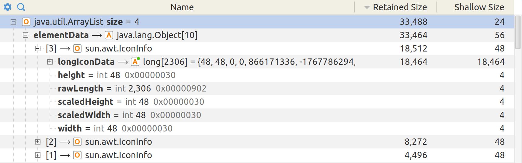 YourKit Java Profiler Help - Object explorer